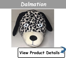 Happy Headbangers Helmet Hat - Dalmation Style
