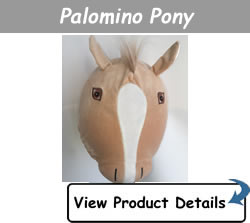 Happy Headbangers Helmet Hat - Palomino Pony Style