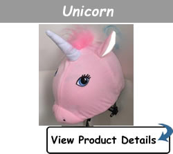 Happy Headbangers Helmet Hat - Unicorn Style