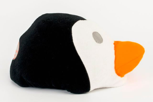 Happy Headbangers Helmet Hat - Penguin Style