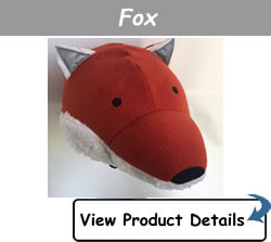 Happy Headbangers Helmet Hat - Fox Style