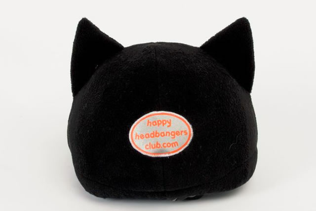 Happy Headbangers Helmet Hat - Cat Style